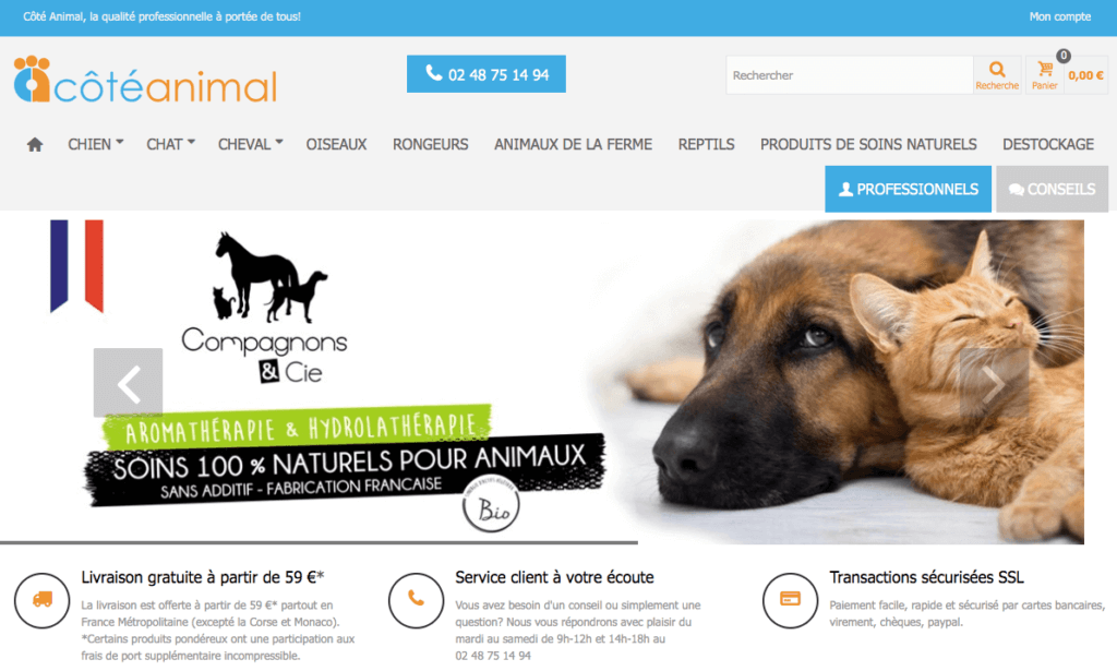 exemple site e-commerce prestashop n°3