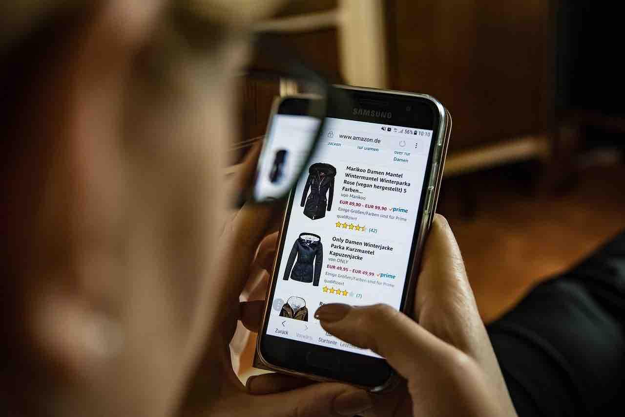 type de e-commerce mobile
